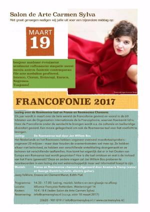 Lezing over de Roemeense taal en Roemeense en Franse Chansons