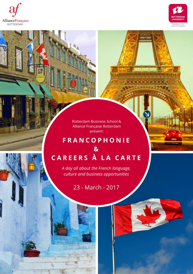 """Conferentie """"Francophonie & Careers à la carte"""""""