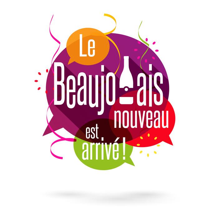 De traditionele Beaujolais Nouveau avond!