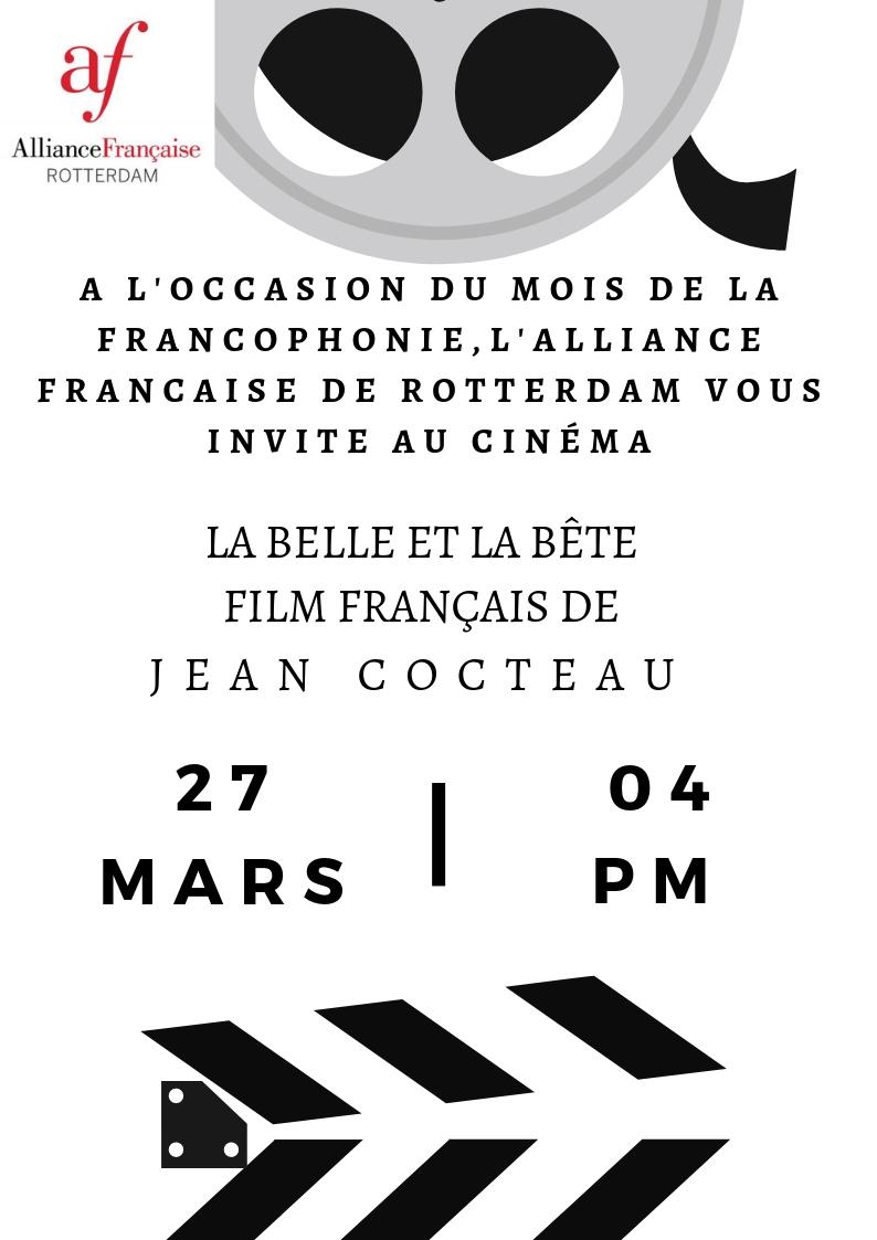 Franse Filmmiddag : woensdag 27 maart 2019