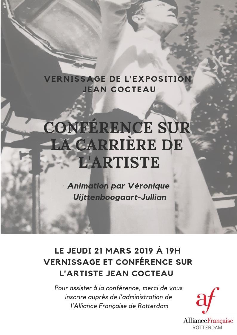 Tentoonstelling en lezing over Jean Cocteau