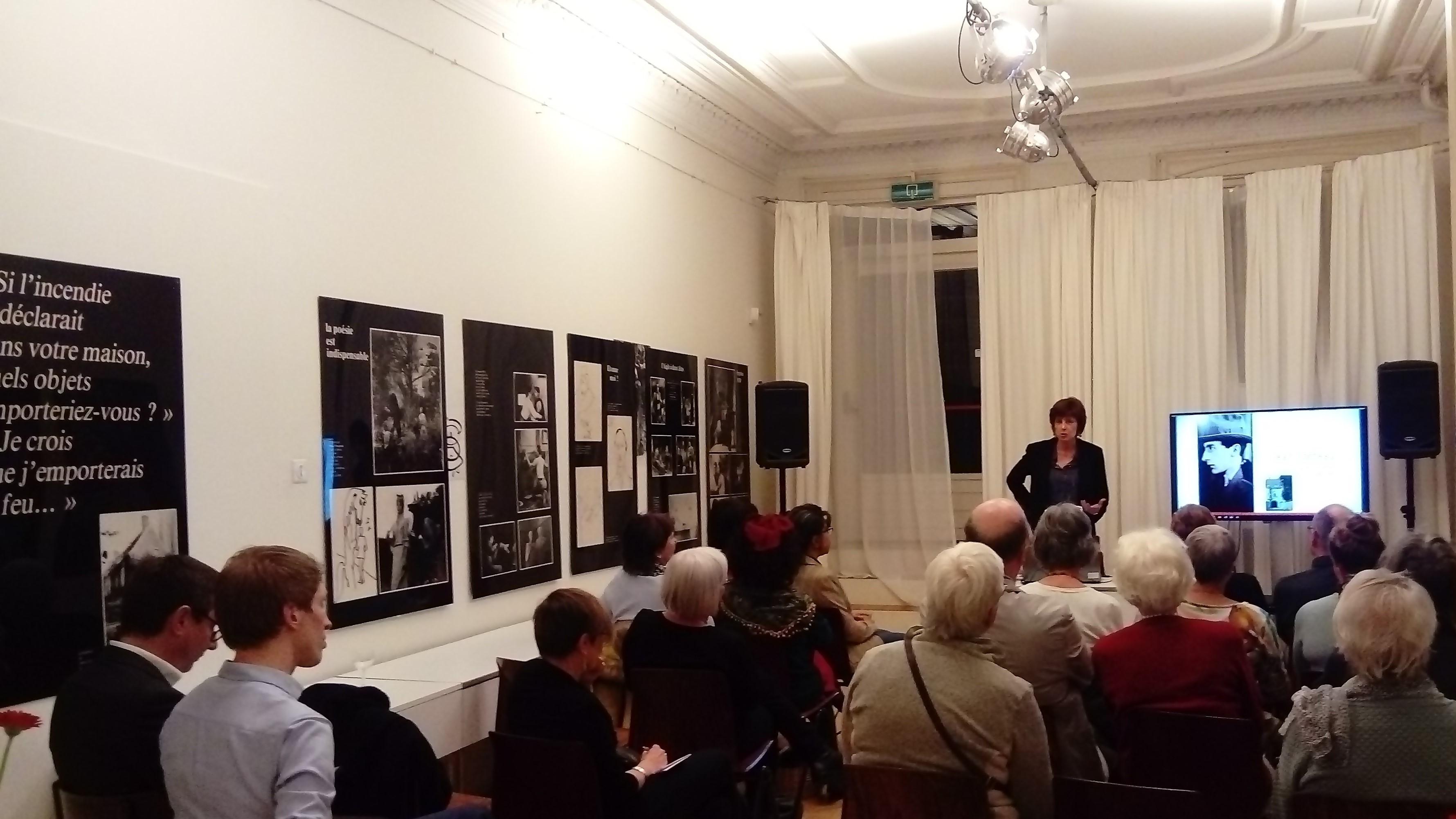 Lezing over Jean Cocteau – Conférence sur Jean Cocteau