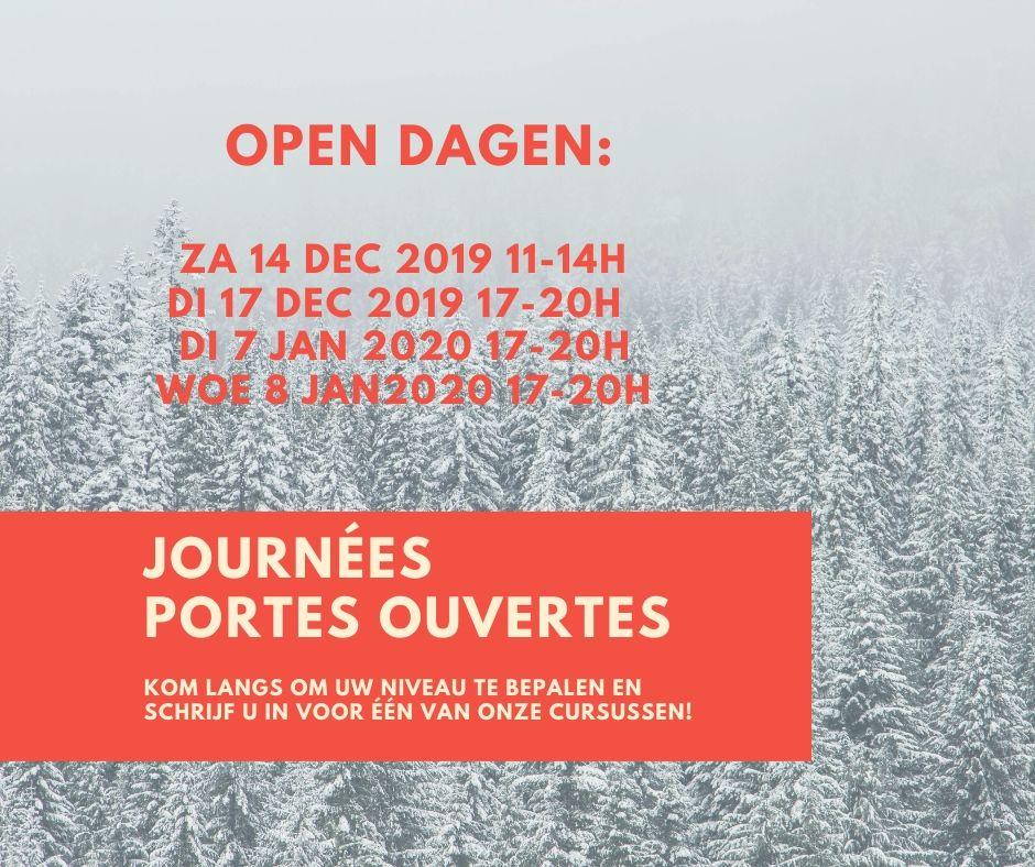Kom naar onze Open Dagen!