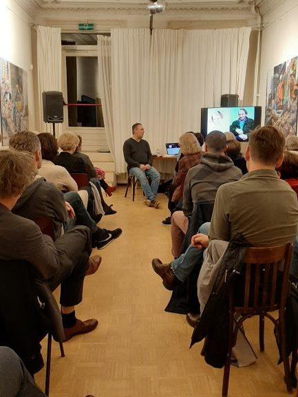 Rencontre littéraire avec Martin de Haan a été un succes!