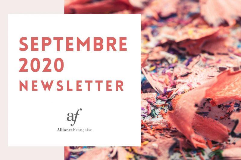 De nieuwsbrief van september 2020