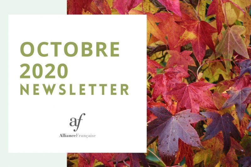 De nieuwsbrief van oktober 2020