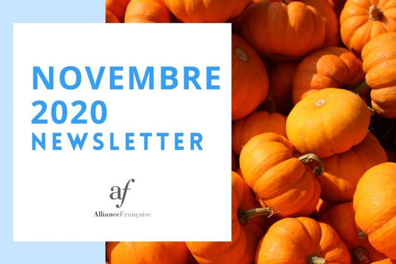 De nieuwsbrief van november 2020