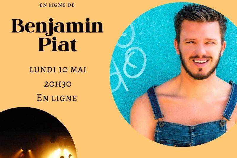 Concert virtuel de Benjamin Piat