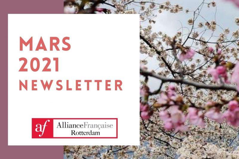 Newsletter mars 2021