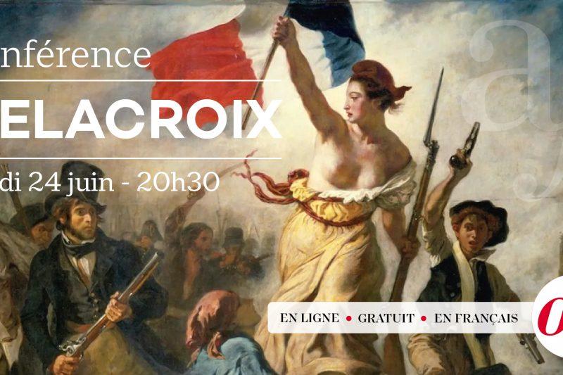 Conférence culturelle – Eugène Delacroix